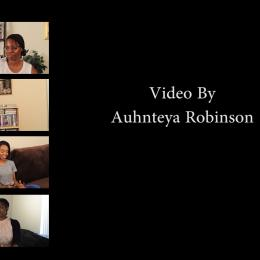 Auhnteya Robinson, Behind closed Doors, video still, 2017.