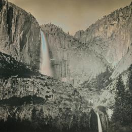 Yosemite Falls, May 21, 2011. Daguerreotype. 6.5 x 8.5 inches