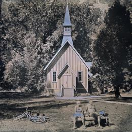 Yosemite Valley Chapel. 2016. Daguerreotype. 10 x 12 inches