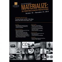 Materialize Shemer Art Gallery Fall 2014 Featuring Meredith Hoy