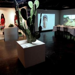 """re:PLACE, Truths of Desert Subsistence and Resilience"" Exhibition. 2012"