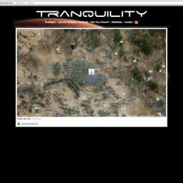 """Tranquility"" Website. 2012"