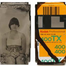 """36 Exposures"" 2012. Collodion tintype"